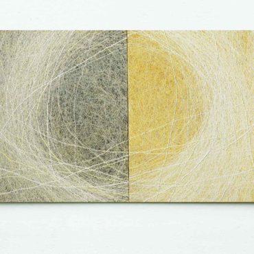Genesis . 200cm x 110 cm (koosneb 2st maalist)