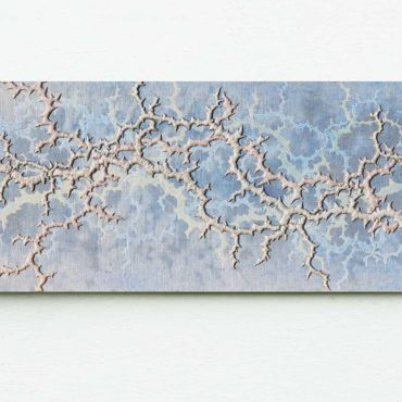 Fraktaal . 125 x 50 cm