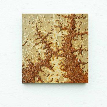 Fraktaal. 35 x 33 cm