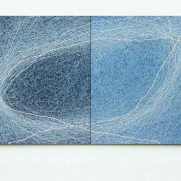 Genesis . 180 x 125 cm (koosneb 2st maalist)