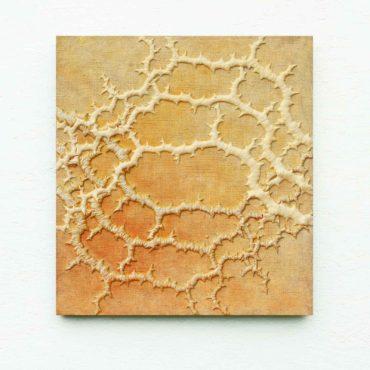 Fraktaal . 58 x 62 cm