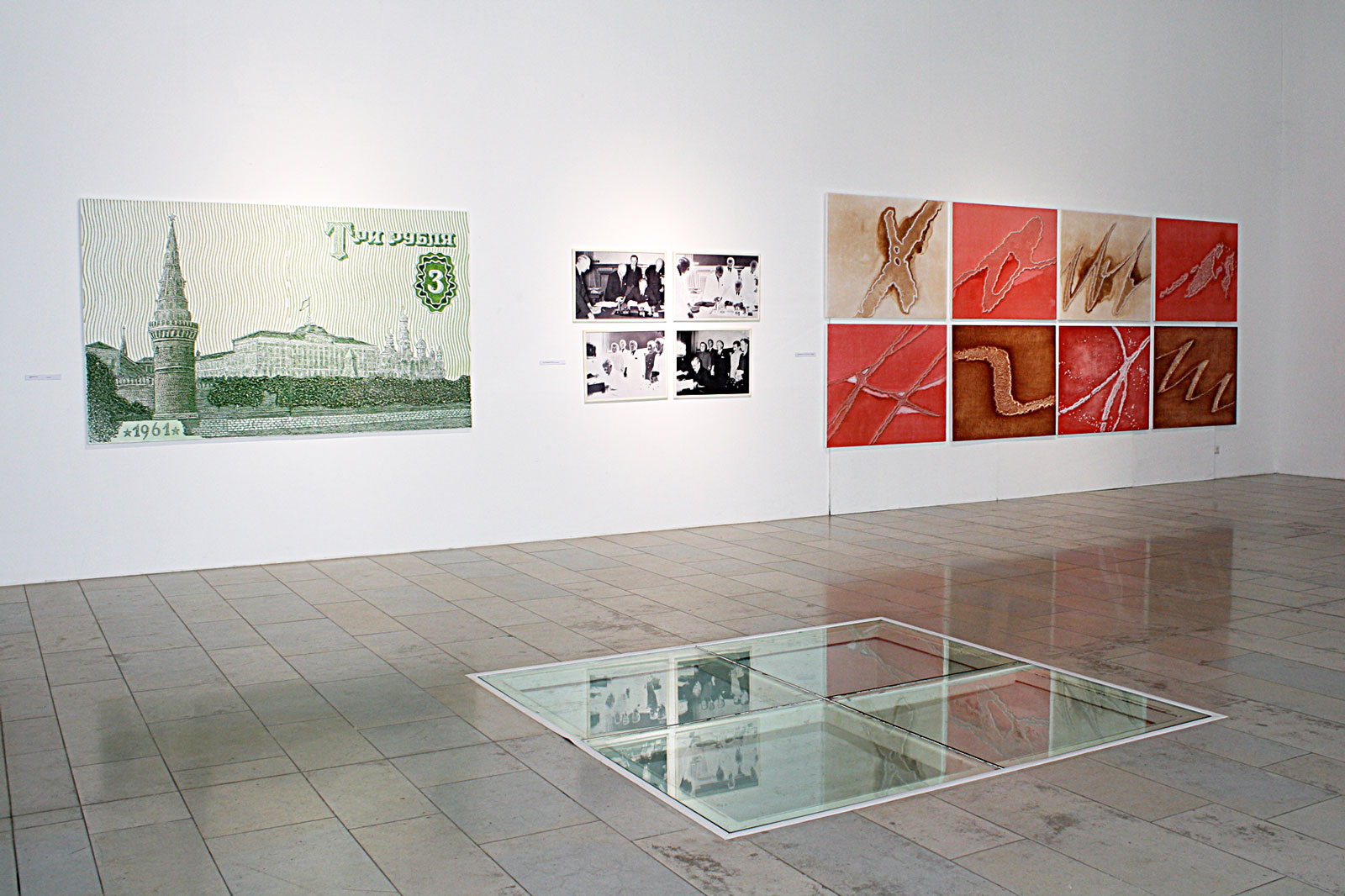 """Isiknäitus """"Raha ja Poeesia """" Pärnu Kunstihoones . 2010"""