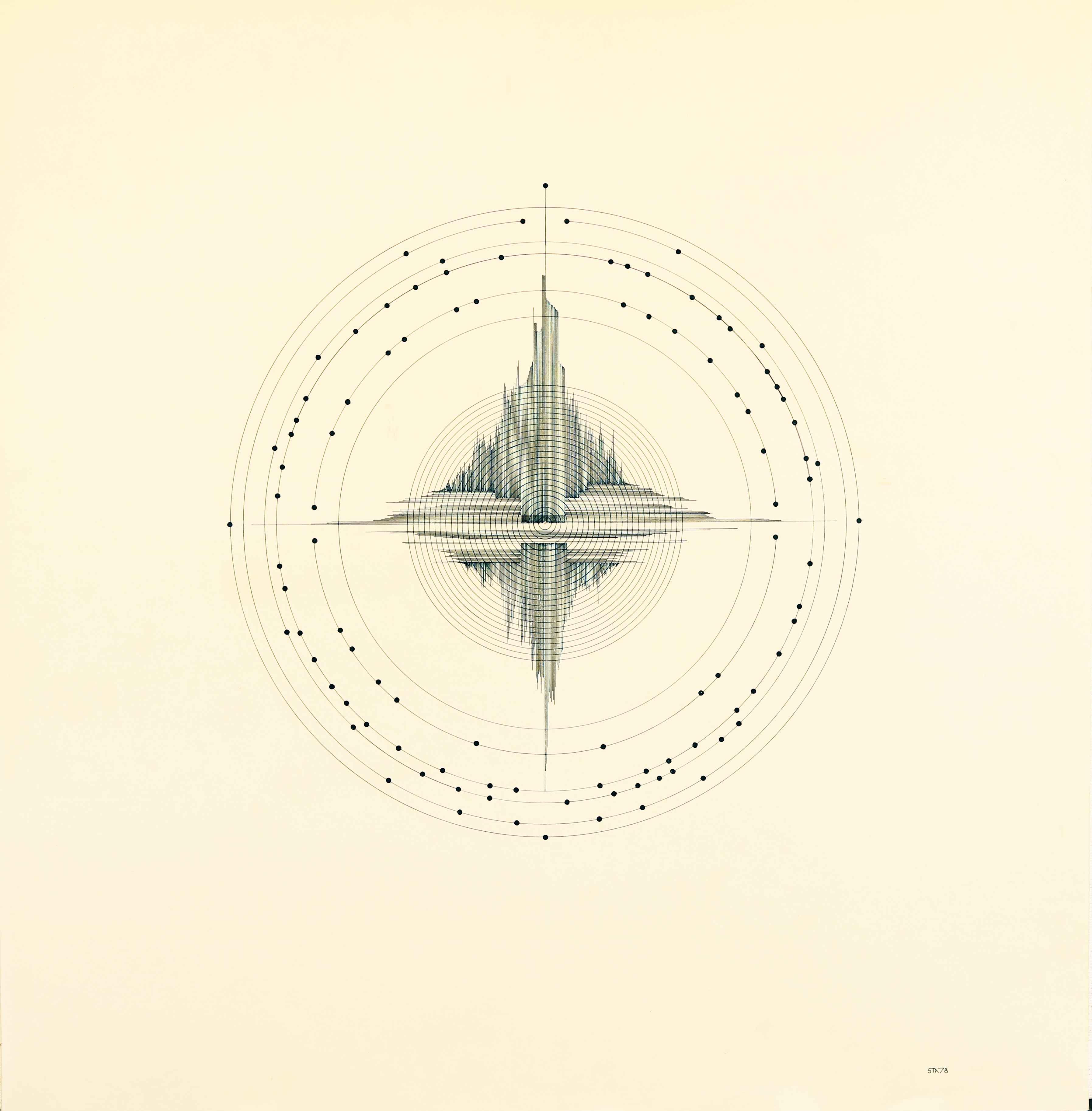 Graafika . 60 x 62 cm
